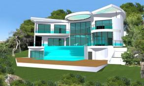 Fr d ric martin architecte bordeaux categories projets - Maison architecte design futuriste silvestre ...